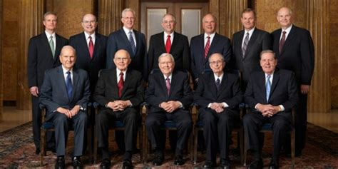 who are the 12 apostles of the lds church