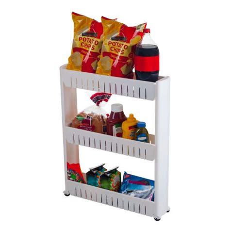 Narrow Pantry Shelving Unit Mobile Shelving Unit Organizer With 3 Large Storage