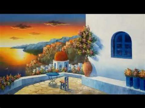 oil paintings from greece (mail your order) youtube
