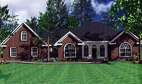 french country ranch house plans european french country ranch traditional house plan 59111
