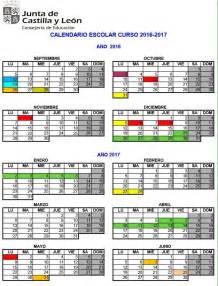 Calendario Lectivo 2017 El Curso Escolar 2016 2017 Comienza El Lunes 12 De