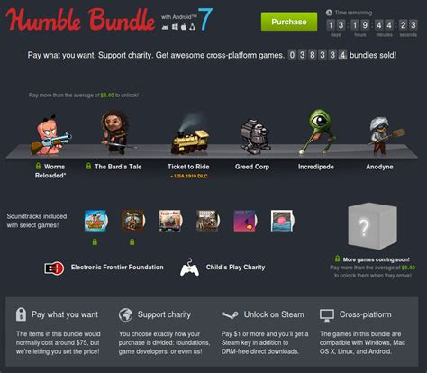 humble bundle with android 7 picando c 243 digo