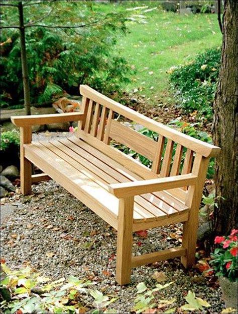 japanese garden bench project plan wood stuff