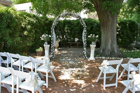 Small Backyard Weddings   Small Weddings in San Antonio