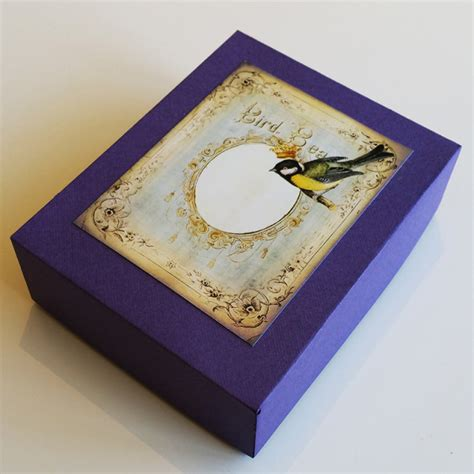 Handmade Card Box - handmade card box sets