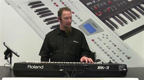 Keyboard Roland Bk 3 Terbaru roland bk 3 namm 2013 booth demo