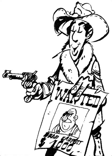 coloring pages luck n 64 coloring pages of lucky luke