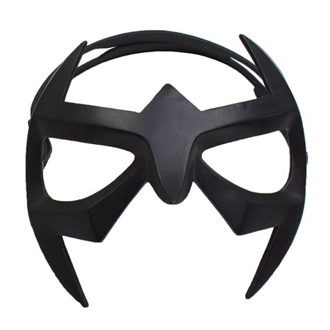 nightwing mask superhero black resin eye mask with elastic