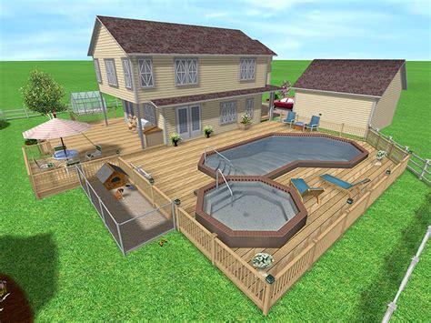 Backyard Pool Design Software Free Beginner Learn Free Landscape Design Software Using