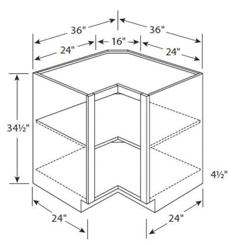 36 corner base cabinet dimensions er36 dillon cafe glazed easy reach corner base cabinet