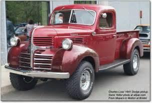 Dodge Truck History History Of The Dodge Trucks 1921 1953