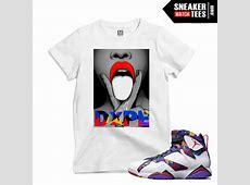 Nothing But Net Jordan 7s Matching T shirts | Sneaker ... Jordan 12 French Blue Shirt