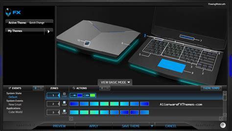 alienware keyboard themes download flowing water by drenzior alienware 14 fx theme