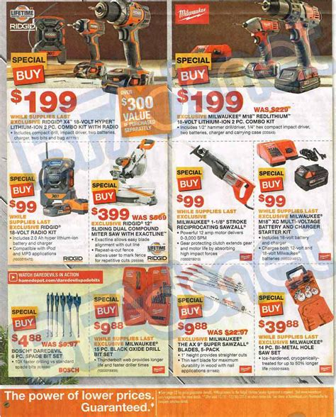 home depot black friday 20