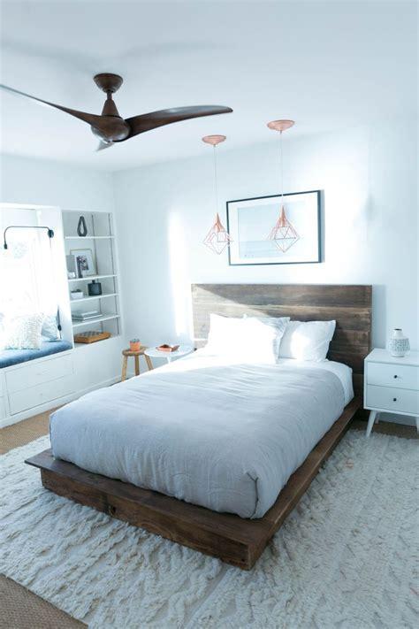 diy reclaimed wood platform bed diy platform bed  blog