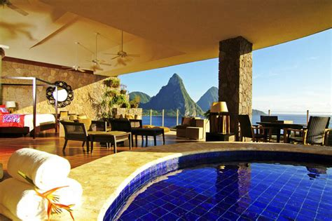 hotel with pool outside every room jade mountain where all rooms infinity pools 171 twistedsifter