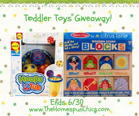 Toy Giveaway 2017 - toddler toys giveaway ends 6 30 the homespun chics