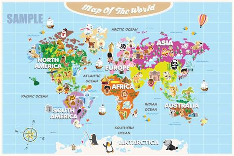 The 25 Best World Maps - reviews for world map for and colorful images