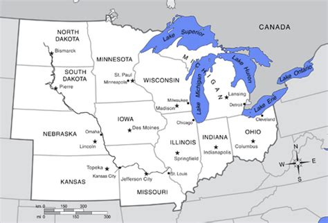 map us midwest region midwestern united states middle west u s midwest u s
