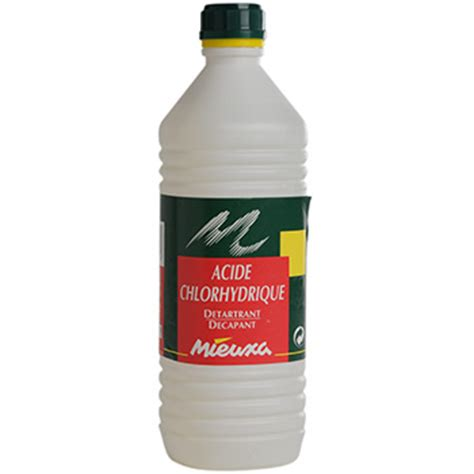 Acide Chlorhydrique Calcaire Wc by Acide Chlorhydrique Bouteille D 39 Acide Chlorhydrique