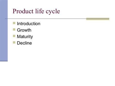 Mba In Product Lifecycle Management by Marketing Management For Mba