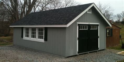 build large shed prefab storage sheds