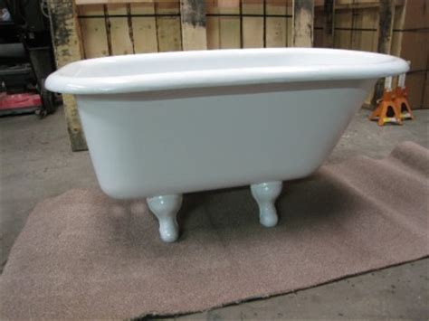 4 Foot Tub 4 Foot Clawfoot Bathtub Restored Vintage Claw Foot Bath