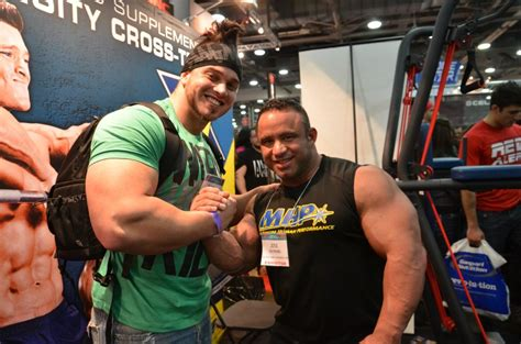 rob bailey bodybuilder rob bailey dwarfing ifbb pros