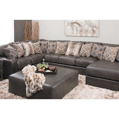 italian leather sectional with chaise denali 3 piece italian leather sectional with laf chaise