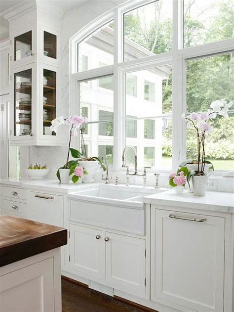 kitchen window sink kitchen pinterest