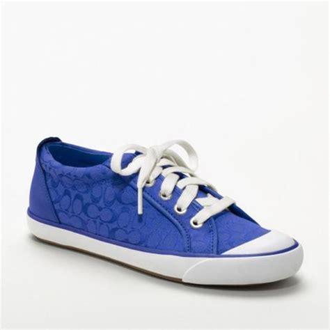 couch sneakers coach barrett sneaker in blue cobalt lyst