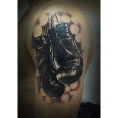boxing gloves tattoo boxing gloves on shoulder best ideas gallery