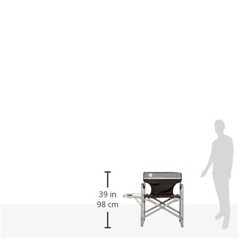 coleman portable deck chair with table coleman portable deck chair with side table cing