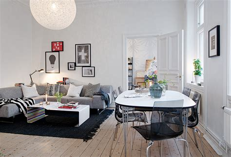 Apartment Home Decor Swedish Apartment Boasts Exciting Mix Of And New