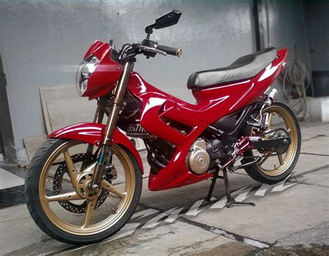 Karet Footstep Satria Fu 301 moved permanently