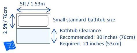 bathtub sizes in feet best 25 bathtub dimensions ideas on pinterest