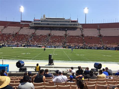 Section 8 La by Los Angeles Memorial Coliseum Section 21 Rateyourseats
