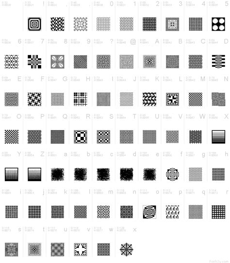 font text pattern patterns forever regular font