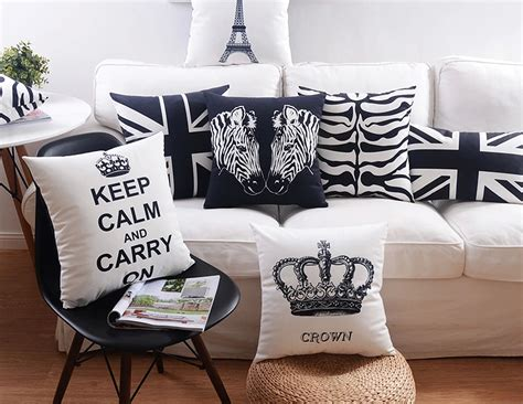 black and white outdoor cushions uk black and white minimalism decorative cushions crown