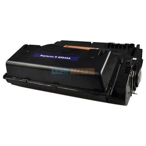 Tinta Hp 45a Black Original compatible 45a q5945a black toner cartridge for hp laserjet 4345 printer ebay