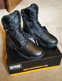magnum leather boots magnum stealth 8 0 leather boots black new us 10 uk 9 aud 75 00 picclick au