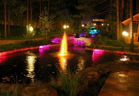 Underwater Landscape Lighting Outdoor Lighting 6 Inspiring Ideas 60 Amazing Photos Home Interior Design Kitchen And