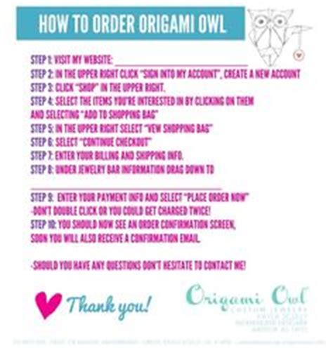 How To Order Origami Owl - how to order origami owl steps walk your