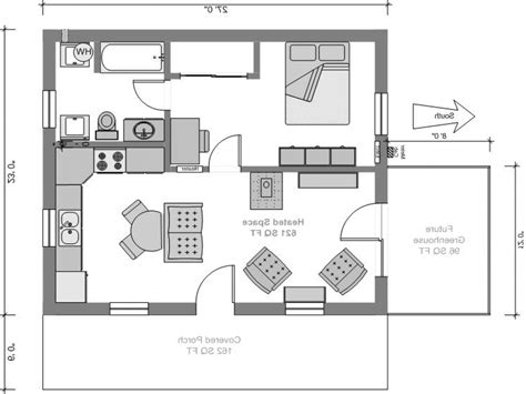 very small home plans floor plans for very small houses