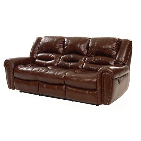 el dorado furniture sofas dellis recliner leather sofa el dorado furniture