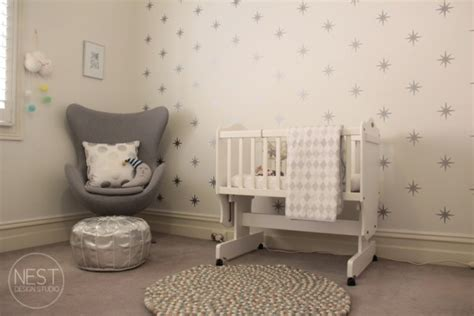 chambre bebe theme etoile decoration chambre bebe fille etoile