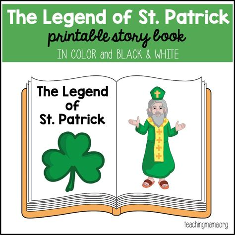 story of s day st printable booklet