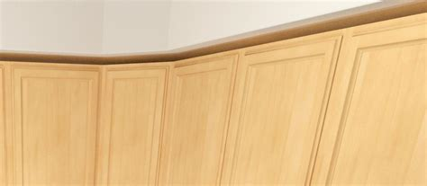 scribe molding for kitchen cabinets install scribe molding for kitchen cabinets finished end