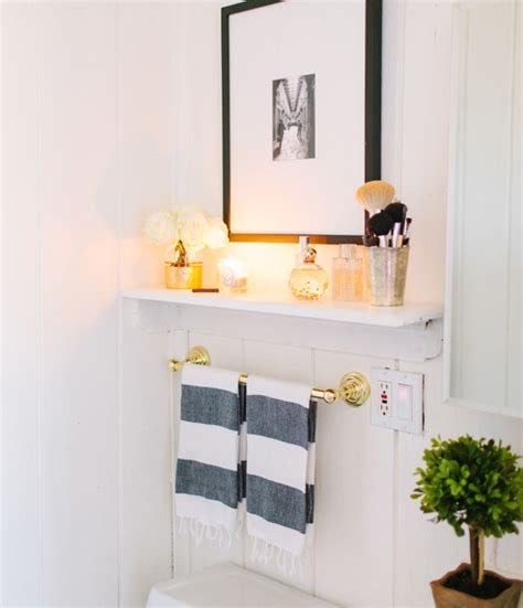 bathroom over toilet shelf bathroom shelf transitional bathroom the every girl