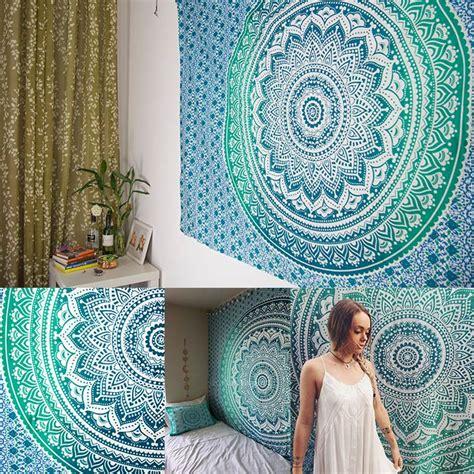 wall pattern cloth presale deal hippie mandala tapestry hand block print